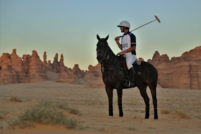 Polo entertainment at AlUla