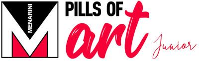 Menarini Pills of Art Junior Logo (PRNewsfoto/Menarini I.F.R.)