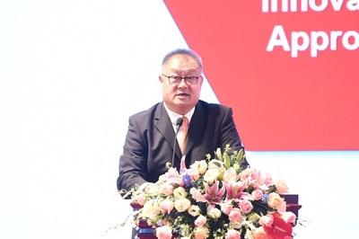 La observación de Chen Yongtao se enfocó en cómo las organizaciones y las personas de China pueden adquirir un nuevo impulso. (PRNewsfoto/PMI)