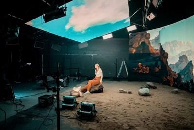 Estudio cinematográfico - TransQuebec inc, Canadá, por Absen (PRNewsfoto/Absen.com)
