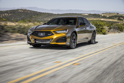 Highly anticipated 2021 Acura TLX Type S sport sedan to arrive at dealerships Mid-June starting at $52,300