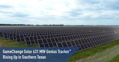 GameChange Solar 631 MW Genius Tracker™ Rising Up in Southern Texas