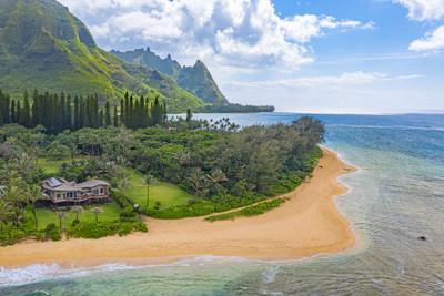 Contemporary Kauai Estate, represented by Hawaii Life Real Estate Brokers, a member of Luxury Portfolio International, luxuryportfolio.com, MLS 640219