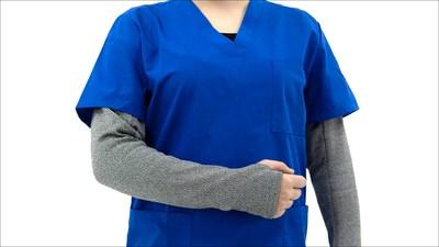 BitePRO Version 4 Bite Resistant Armguards worn by a nurse